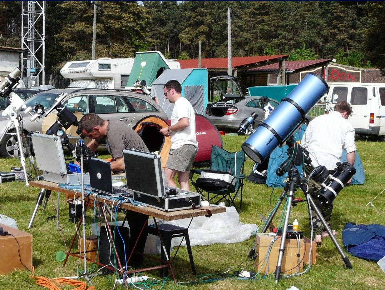 Rencontre astronomique printemps 2017